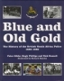 Blue and old gold