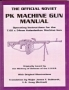 The official soviet PK machine gun manual