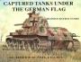 Captured tanks under the German Flag